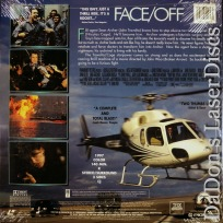 Face / Off Faceoff AC-3 THX WS LaserDisc Travolta Cage Thriller