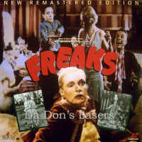 Freaks Remastered Rare LaserDisc Ford Baclanova Horror