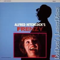 Frenzy Rare LaserDisc Hitchcock Leigh-Hunt Thriller