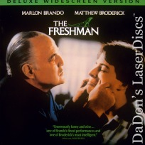 The Freshman WS Rare LaserDisc Brando Broderick Comedy