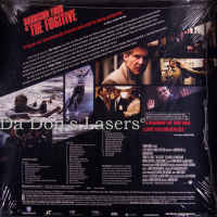 The Fugitive 1993 WS DSS Rare NEW LaserDisc Anamorphic / Squeezed Thriller