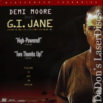 G.I. Jane AC-3 WS Rare LaserDisc Demi Moore Mortensen Female Navy Seal Action
