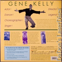 The Gene Kelly Collection LaserDisc WS NEW Box Sinatra Musical