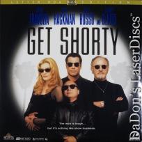 Get Shorty AC-3 WS LaserDisc Travolta De Vito Hackman Comedy