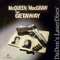 The Getaway WS NEW LaserDiscs McQueen MacGraw Crime Thriller