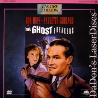 The Ghost Breakers Rare Encore NEW LaserDisc Comedy Hope