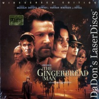 The Gingerbread Man AC-3 WS Rare LaserDisc Branagh Hannah