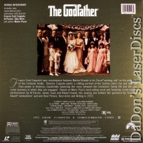 The Godfather II AC-3 RM THX WS Rare LaserDisc Pacino Caan Duvall Crime Drama