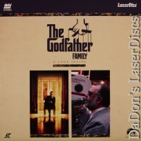 The Godfather Family Mega-Rare LaserDisc Brando Pacino Documentary