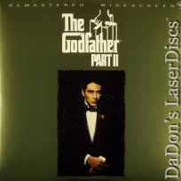 The Godfather Part II AC-3 THX WS NEW Rare LaserDisc Pacino De Niro Crime Drama