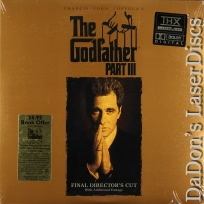 The Godfather Part III AC-3 RM THX Rare LaserDisc Pacino Crime Drama