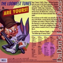 Golden Age of Looney Tunes 4 NEW LaserDisc Box Cartoons