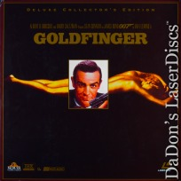 Goldfinger THX WS James Bond 007 LaserDisc Box-set Sean Connery Spy Action