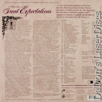 Great Expectations Criterion #262 Rare LaserDisc Mills Drama