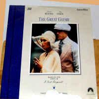 The Great Gatsby Rare LaserDisc Redford Farrow Dern *CLEARANCE*