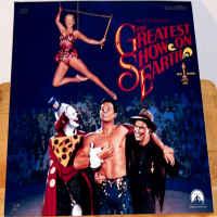 The Greatest Show on Earth RM Rare LaserDisc
