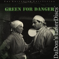 Green for Danger Criterion #170 LaserDisc Gray Howard Mystery