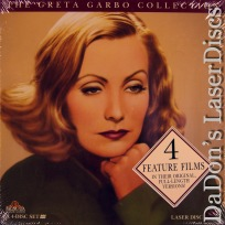 The Greta Garbo Collection Rare NEW LaserDiscs Box Drama