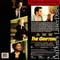 The Grifters 1990 LaserDisc NEW LD Cusack Huston Bening Crime Drama