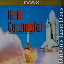 Hail Columbia! IMAX Dolby Surround CAV Rare LaserDisc NEW Space Documentary