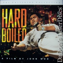 Hard Boiled CAV WS Criterion #245 Rare LaserDisc Woo Action Foreign