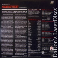 A Hard Day\'s Night CAV Criterion #20 Beatles LaserDisc Comedy