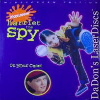 Harriet the Spy AC-3 WS Rare LaserDisc O\'Donnell Candid Child Writer Family