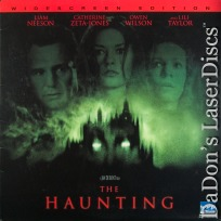 The Haunting AC-3 WS 1999 Rare LaserDisc Neeson Zeta-Jones Horror