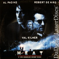 HEAT AC-3 WS Rare LaserDisc Pacino DeNiro Kilmer Thriller *CLEARANCE*