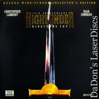 Highlander AC-3 THX WS Remastered 10th Annual NEW Rare LaserDisc Sci-Fi