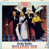 Holiday Inn Rare LaserDisc Bing Crosby Fred Astaire