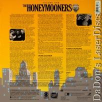 The Honeymooners Volume One LaserDisc Box Set Jackie Gleason Comedy TV Show