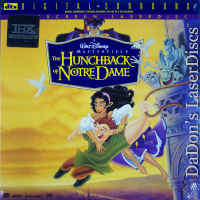 The Hunchback of Notre Dame DTS THX WS LaserDisc Disney Animation