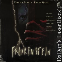 Frankenstein 1992 Rare NEW LaserDisc Bergman Quaid TV Movie Horror *CLEARANCE*