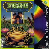 Frog Rare NEW LaserDisc Elizabeth Berkley Shelley Duvall Elliott Gould Family