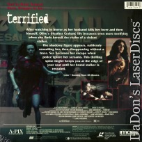 Terrified Mega-Rare LaserDisc Heather Graham Horror