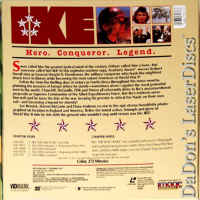 IKE Mega-Rare LaserDisc Box Set NEW Duvall Biography War Drama