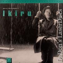 Ikiru Criterion #114 Rare LaserDisc NEW LD Kurosawa Drama Foreign