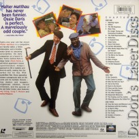 I\'m Not Rappaport DSS WS LaserDisc Matthau Davis Irving Comedy
