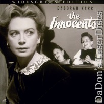The Innocents WS Rare LaserDisc Kerr Redgrave Horror