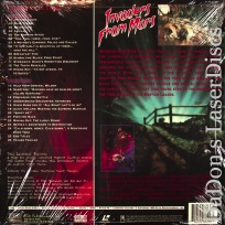 Invaders From Mars WS Rare Elite NEW LaserDisc Black Sci-Fi