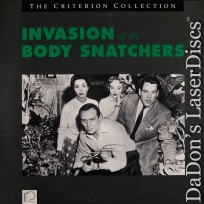Invasion of The Body Snatchers Criterion LaserDisc #8A Sci-Fi