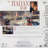 The Italian Job WS 1969 Rare NEW LaserDisc Caine Coward