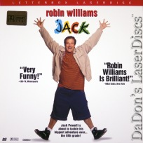 Jack AC-3 WS NEW Rare LaserDisc Williams Lopez Cosby Comedy