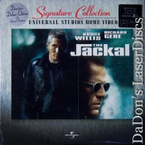 The Jackal AC-3 THX WS NEW Rare LaserDisc Signature Collection Thriller