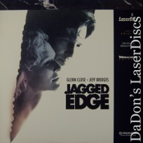 Jagged Edge WS LaserDisc PSE Pioneer Special Edition Thriller