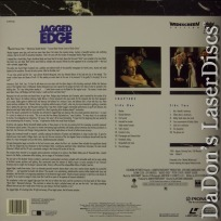 Jagged Edge WS LaserDisc PSE Pioneer Special Edition Thriller *CLEARANCE*