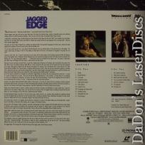 Jagged Edge WS LaserDisc PSE Pioneer Special Edition Thriller