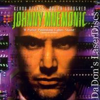 Johnny Mnemonic DSS WS NEW LaserDisc Reeves Lundgren Sci-Fi