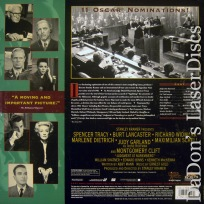 Judgment at Nuremberg WS Rare LaserDisc Tracy Lancaster Drama